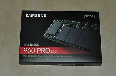 SAMSUNG 960 PRO M.2 512GB NVMe PCI-Express 3.0 x4 Internal SSD