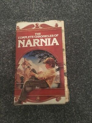 The Complete Chronicles of Narnia by C.S Lewis - Boxed Set of all 7 Books -1985
