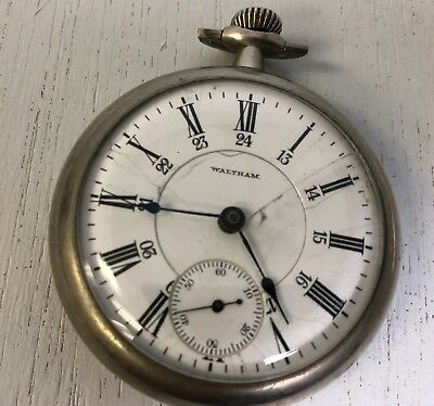 Vintage Waltham Canadian Railway Time Service RR pocket watch