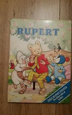 Rupert The Bear Annual - No.55 -1990- 70th Anniversary Edition-With Dust jacket