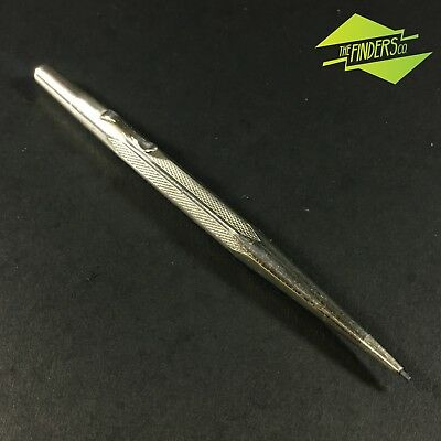 c.1920's ANTIQUE SILVER PLATED 'LIFE-LONG' PROPELLING GREY-LEAD PENCIL WORKING