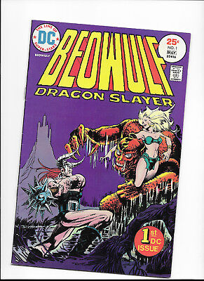 Beowulf #1 {Apr - May 1973 Dc} Early Bronze Age! F/vf Dragon Slayer Supreme!