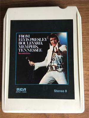 Elvis Presley Memphis Tennessee Live Rare 8 Track Tape Tested Late Nite Bargain