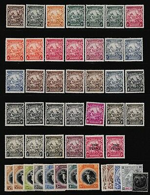Pre Decimal,Caribbean,Barbados,1920-40s Collection,MH,#1849