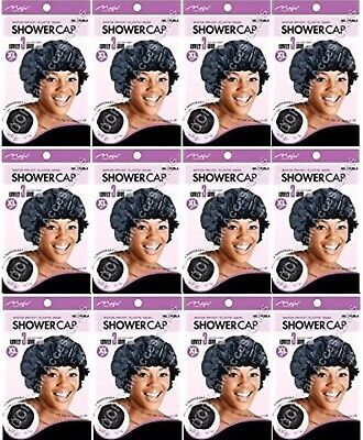 "Magic Collection Water Proof Elastic Band Shower Cap XL 21"" #2160 (4 PCS OFFER😳"