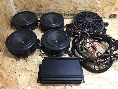AUDI A4 B6 01-06 Bose Sound System Front Rear Speakers ... Wiring Bose Speakers on