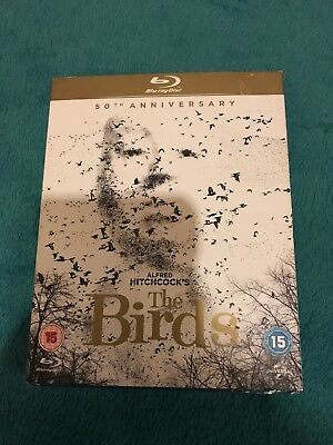 The Birds (Blu-ray, 2013) Slipcase - New & Sealed  - Hitchcock