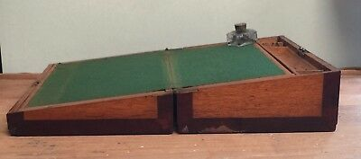 Antique  Writing Slope / Box  Needs Tlc - Original Condition