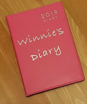 Personalised 2019 Diary Christmas gift