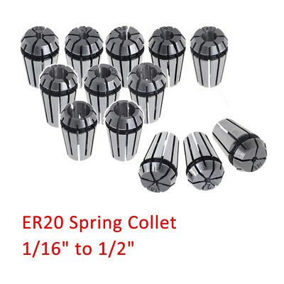 New 1Pcs ER20 Spring Collet For CNC Milling Lathe Tool Engraving Machines