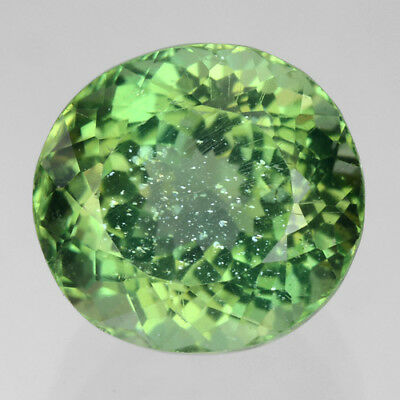 Apatite 2.63 Cts Oval Shape Green Color Stylish Charming Natural Unheated Rare