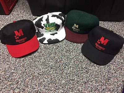 MYCOGEN SEEDS COMPANY Lot of 4 Snapback Hat Cap Brand NEW & NEVER USED