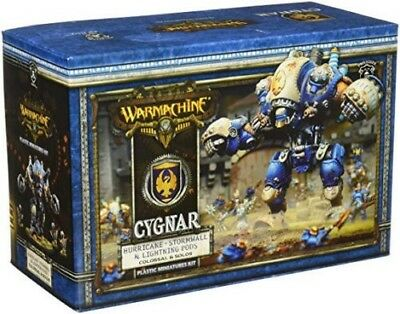 Warmachine Hordes Cygnar Stormwall and Lightning Pods / Hurricane, PIP 31112-NEW