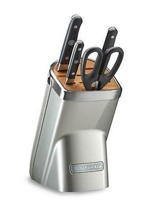 New KitchenAid Knife Block 5 Piece