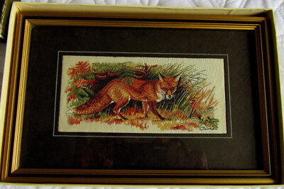 Cash's Vintage Woven Silk Picture Collector Series 'Red Fox'