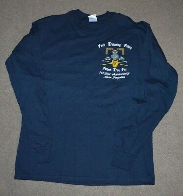 FDNY Ladder 163 Rescue 4 Memorial Long Sleeve Shirt NYC Fire Dept