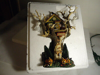 Dept 56 Snow Village -Haunted Tree House #56-55150