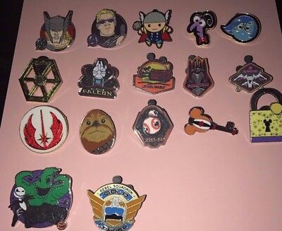 Disney Pin Trading Lot of 30 Assorted Pins - Brand NEW - No Dup. 100% Tradable