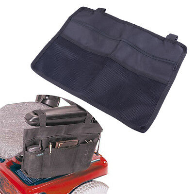 Wheelchair Storage Wallet Side Bag Pocket Punch Case/Scooter Armrest Holder Bar