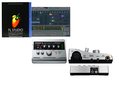 Roland Ua-4Fx2 Stream Station Usb Audio Interface+Fl Studio Signature Software