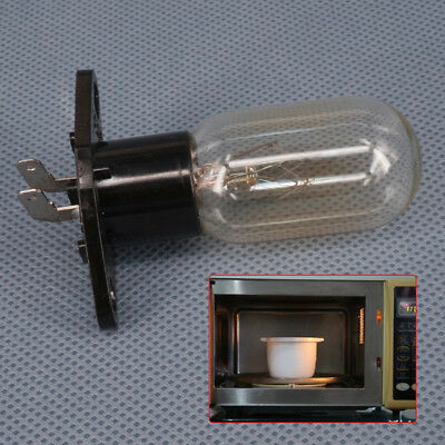2 Pin Microwave Ovens Light Bulb Lamp Globe T170 230V 20W w/ Base for Most Brand