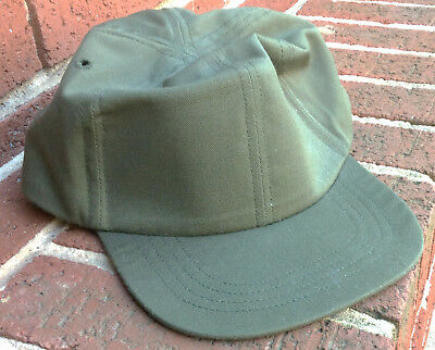 US Military Issued OG 507 OD Green Hot Weather Post Vietnam Cap or Hat MINT