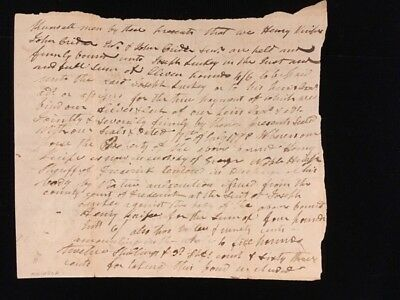 Virginia Document July 1799 With Four Cents Embossed Revenue