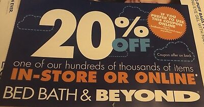 Bed Bath And Beyond Coupon 20% Off Any 1 Item