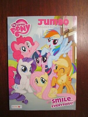 My Little Pony Coloring Book Smile EveryPony!  Rainbow, Rarity Apple Flutter