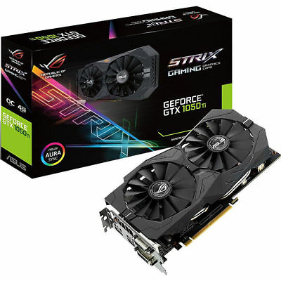 *ASUS Geforce GTX 1050Ti 4GB ROG STRIX OC Edition BRAND NEW WITH FREE SHIPPING*
