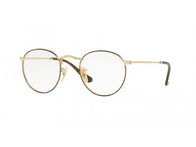 c6224f7db Glasses Spectacles frame Ray Ban RX3447V ROUND METAL color code 2945