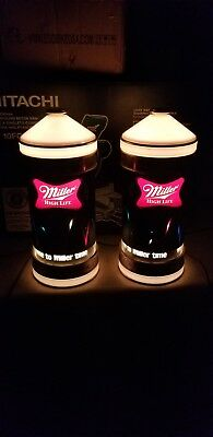 Vintage Miller High Life Beer Light, Sign Motion Bounce Ball
