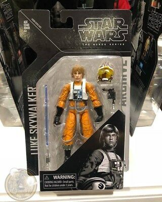 Pre Sale Star Wars Black Series 6 Inch Wave 1 Archive Collection Luke Skywalker