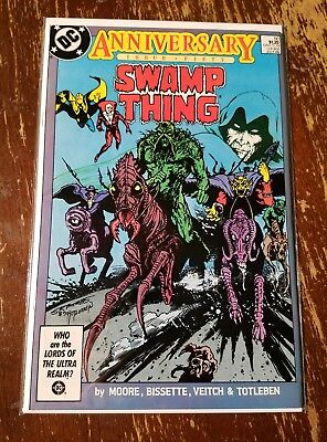 SWAMP THING 50 1ST FULL JUSTICE LEAGUE DARK ALAN MOORE DC High GradeVF/NM