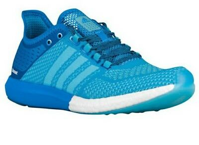 f2df6fbe71b42a ADIDAS CC COSMIC BOOST MENS RUNNING SHOES (B44080) Mint Blue SZ 11