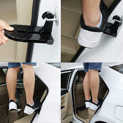Folding Car Door Latch Hook Step Mini Foot Pedal Ladder for Jeep Truck SUV Roof