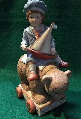 "Vintage The Heirloom Tradition  Limited Edition ""Benjamin"" Figurine Gordano Art"