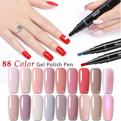 LEMOOC Gel Varnish Pen Nail Gel Polish Special Design Pencil UV LED Lamp Gel