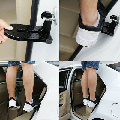 Folding Car Door Latch Hook Step Mini Foot Pedal Ladder For SUV Truck Jeep Roof