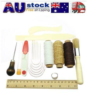 23Pcs/Set Bookbinding Kit Starter Tools Bone Folder Paper Creaser Waxed Thread