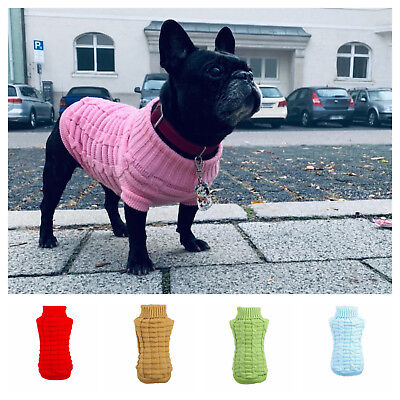 Winter Coat For Dog Pet Chihuahua Puppy Woolen Clothes Sweater Knitwear Clothing