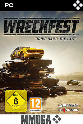 Wreckfest Key Standard Version - PC Steam Spiel Digital Code [Rennspiele][DE/EU]