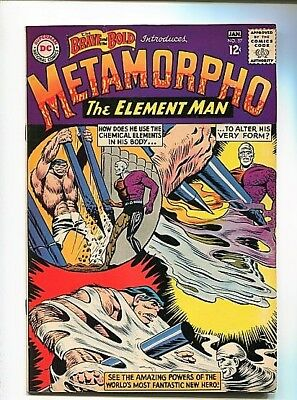 Brave And The Bold  #57  9.2  Ow/w  Pages  First Metamorpho Origin (1965) Rare