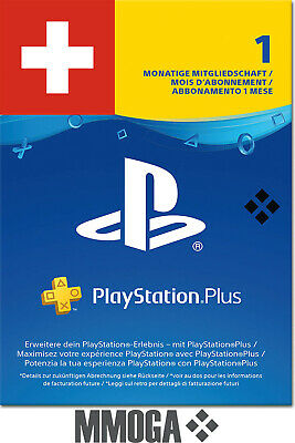 PlayStation Plus - PlayStation Network 30 Tage (1 Monat) PSN CODE [Sony] [CH]