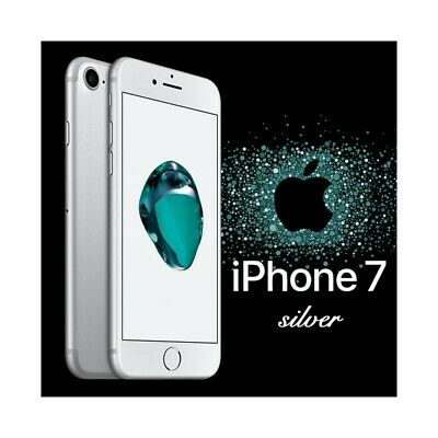 """Smartphone Apple Iphone 7 32Gb Ios 4,7"""" Touch Id 12Mpx Ip67 Silver Grigio-"""