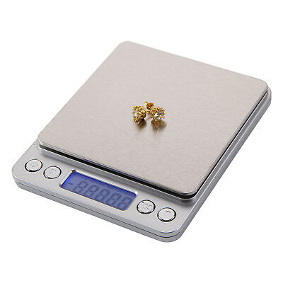 0.01-500g Kitchen Food Scale Digital LCD Electronic Balance Weight Postal Scales