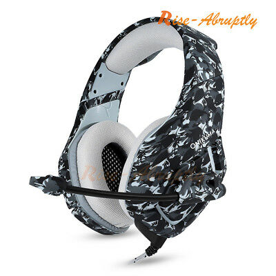 ONIKUMA K1 Stereo Bass Surround Gaming Headset Headphone for PS3 PS4 Xbox One PC