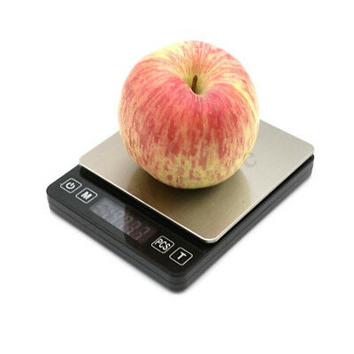 Kitchen Scale Digital 0.01g LCD Electronic Weights Scales Food Shop 3kg/500g NEW