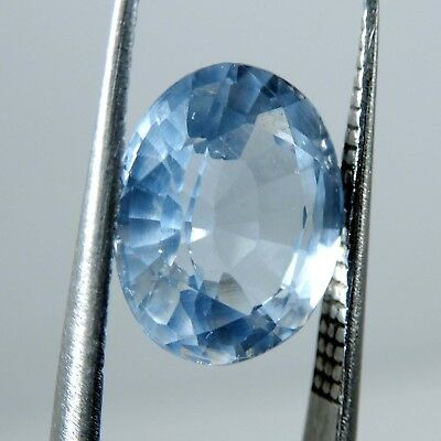 5.20 CT. Natural Certified Aquamarine Oval Cut Blue-Color Loose Gemstone P