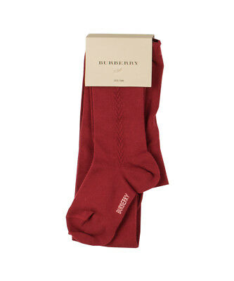 Burberry Strumpfhose - rot - OUTLET SALE ANGEBOT